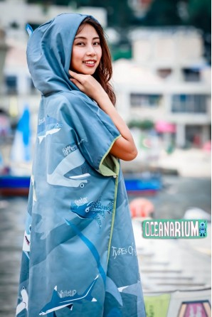 Sharks cloak Towel