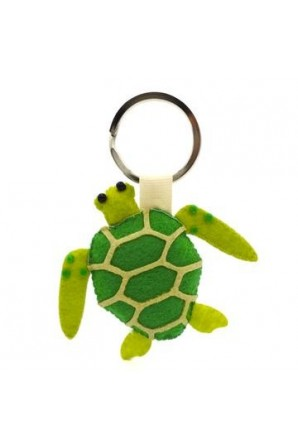 Green Sea Turtle Keychain...