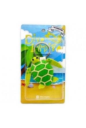 Green Sea Turtle Keychain Sunny