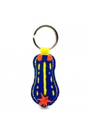 Nudibranch Keychain Bruno