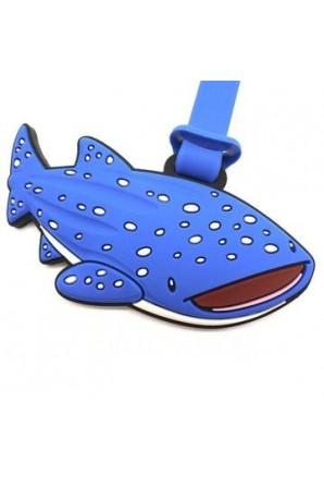 William Tag per bagagli di squalo balena