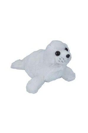 Harp Seal Pup Stuffed Animal