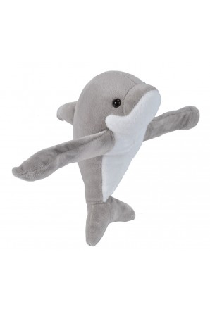 Huggers Dolphin Stuffed Animal