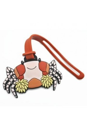 Pomme Pom Pom Crab Luggage Tag