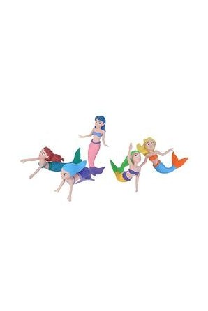 Polybag of Mermaid Figurines