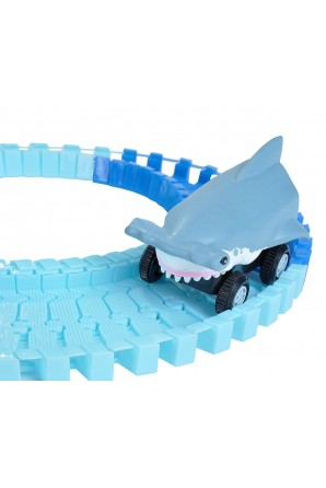 Car with Rail Hammer Shark