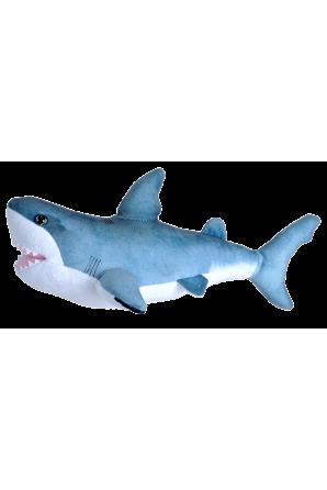 Peluche   grande squalo bianco