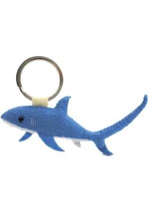 Taylor Theresher Shark Keychain