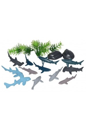Mini Cubo de Tiburones