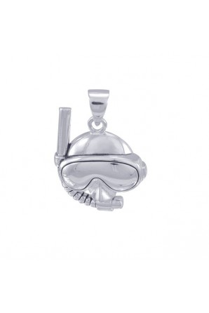 Large Diving Mask Pendant