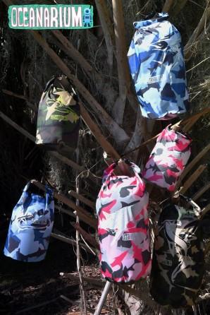 Bolsa Estanca camuflaje rosa Tiburón 5l
