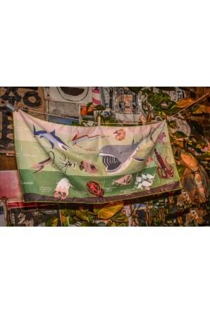 Mittleres Handtuch Abyssische Kreaturen