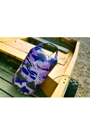 Purple Camo Drybag 15 L. Great White