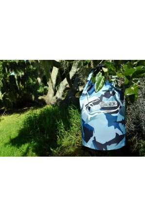 Navy Camo Drybag 5 L. Threshershark