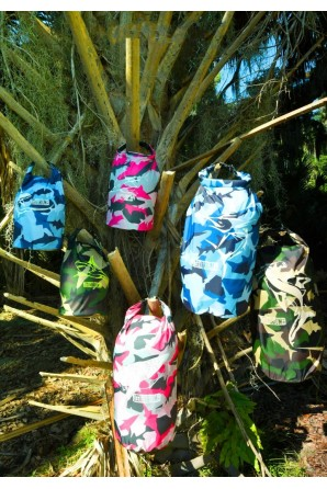 Green Camo Drybag 5 L. Great White