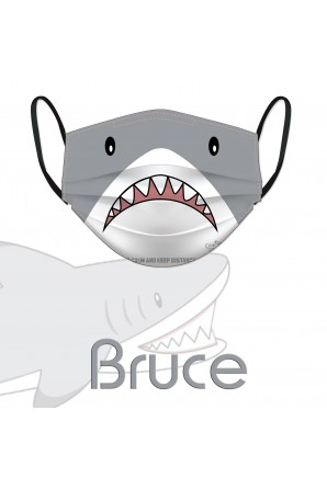 Mascarilla tiburón Bruce