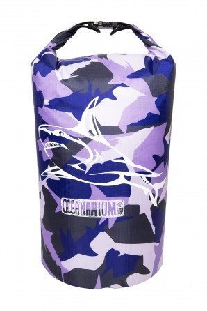 Purple Camo Drybag 15 L....
