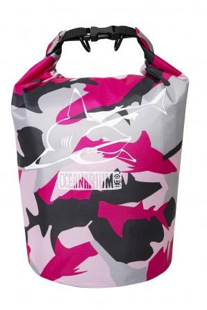 Pink Camo Drybag 5 L. Bull...