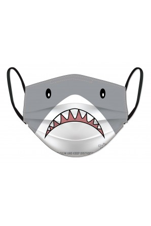 Marine animal face masks