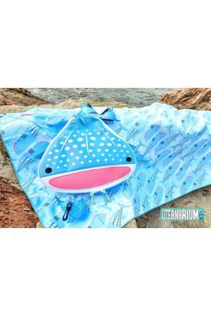 Serviette Grande Requin Baleine