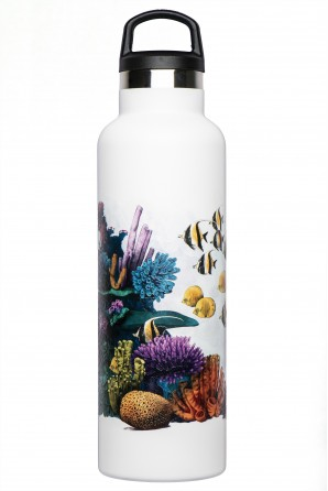 Botella térmica ilustrada Fish Tank