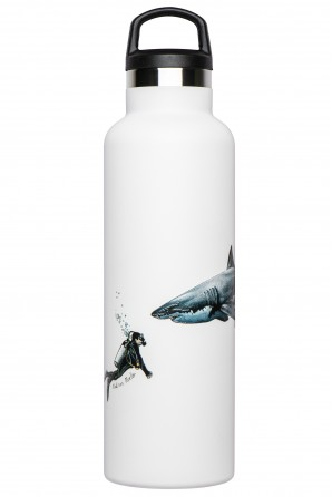 Illustrated thermal bottle Fish Tank