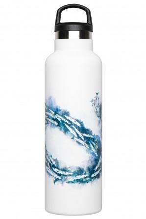Bottiglia termica illustrata Fish Tank