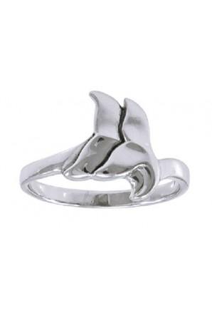 Anello Doppia coda di balena