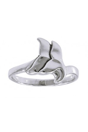 Double Whale Wrap Ring