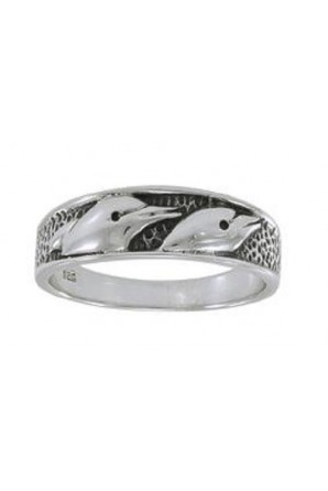 Two Dolphin Alliance Ring