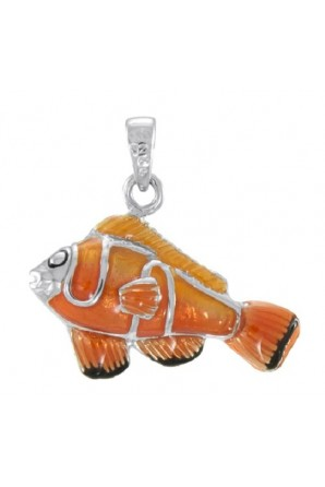 ciondolo pesce pagliaccio
