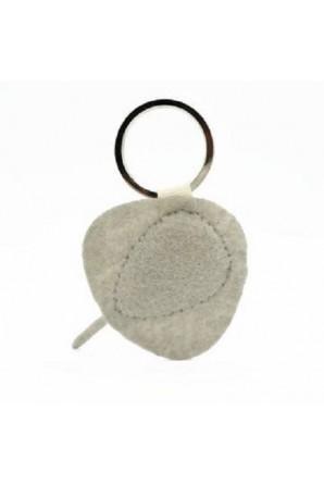 Marbled Stingray Keychain Maple