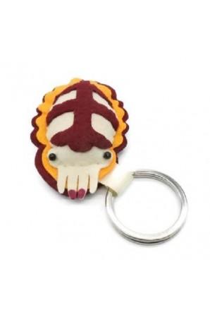 Flambo Flamboyant Cuttlefish Keychain