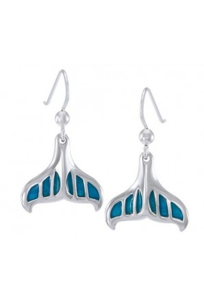 Whale Tail with Enamel...
