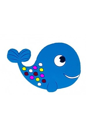 Rubber magnet with fish shape