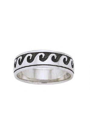 Perfect Waves Ring