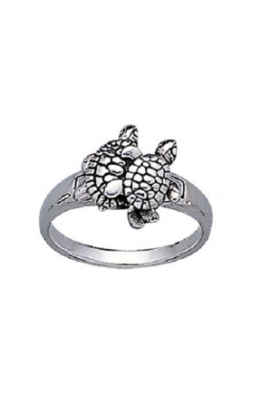 Turtle Pair Ring