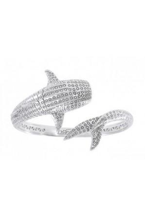 Whale Shark Cuff Bracelet