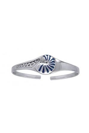 Nautilus Shall Cuff Bracelet