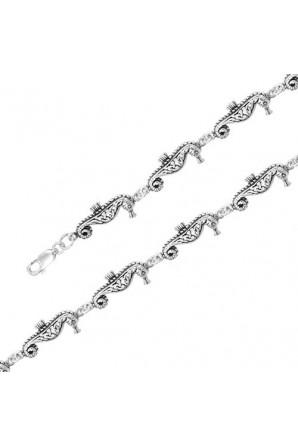 Celtic Seahorse Bracelet