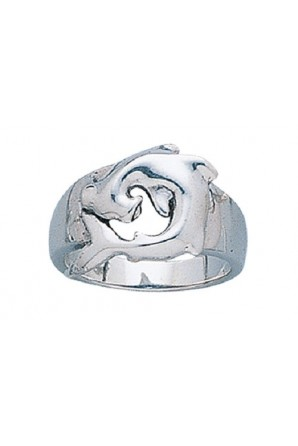 Rounded Hammerhead Ring