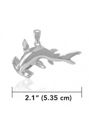 Grand Pendentif Requin Marteau