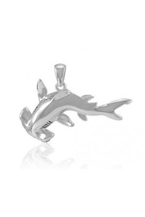 Big Hammerhead Shark Pendant