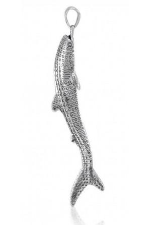 Colgante Tiburón Ballena Grande Vertical
