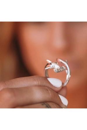 Open Hammerhead Ring