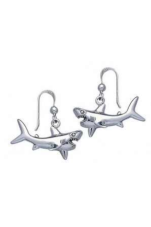 Greak Shark Hook Earring