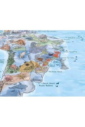 Mappa delle immersioni Asciugamano