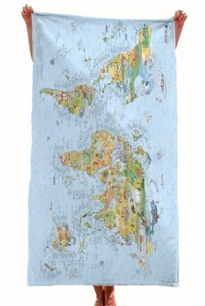 Mapa de Mergulho Toalha