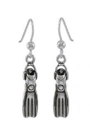 Dive Fin Hook Earring
