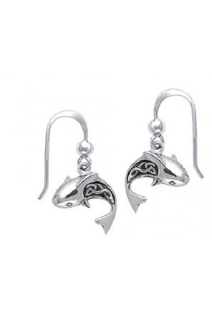 Celtic Shark Hook Earring